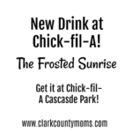 New Drink at Chick-fil-A: The Frosted Sunrise! Get it now!