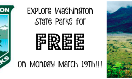Visit Washington State Parks FREE On March 19th!