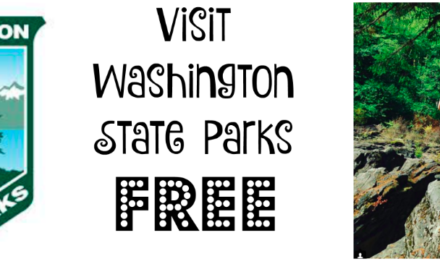 2018 Washington State Park FREE Days