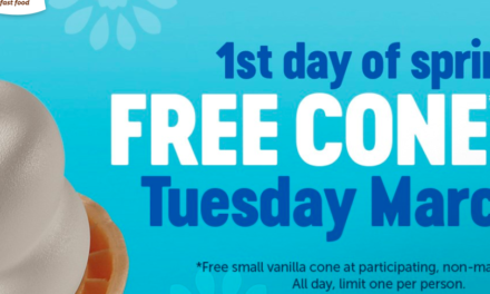 Free Cones at Dairy Queen March 20th