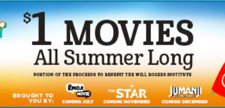 Regal Summer Movie Express – 2018 Summer Schedule