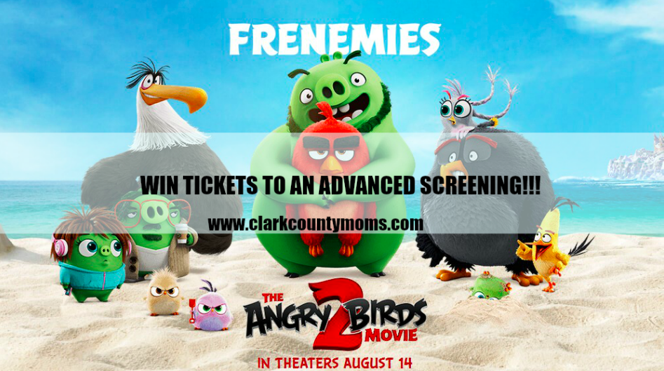 Angry Birds 2 Movie Screening + Prize Pack Giveaway!!!
